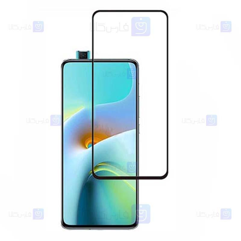 محافظ صفحه نمایش تمام چسب با پوشش کامل شیائومی Full Glass Screen Protector For Xiaomi Redmi K30 Ultra