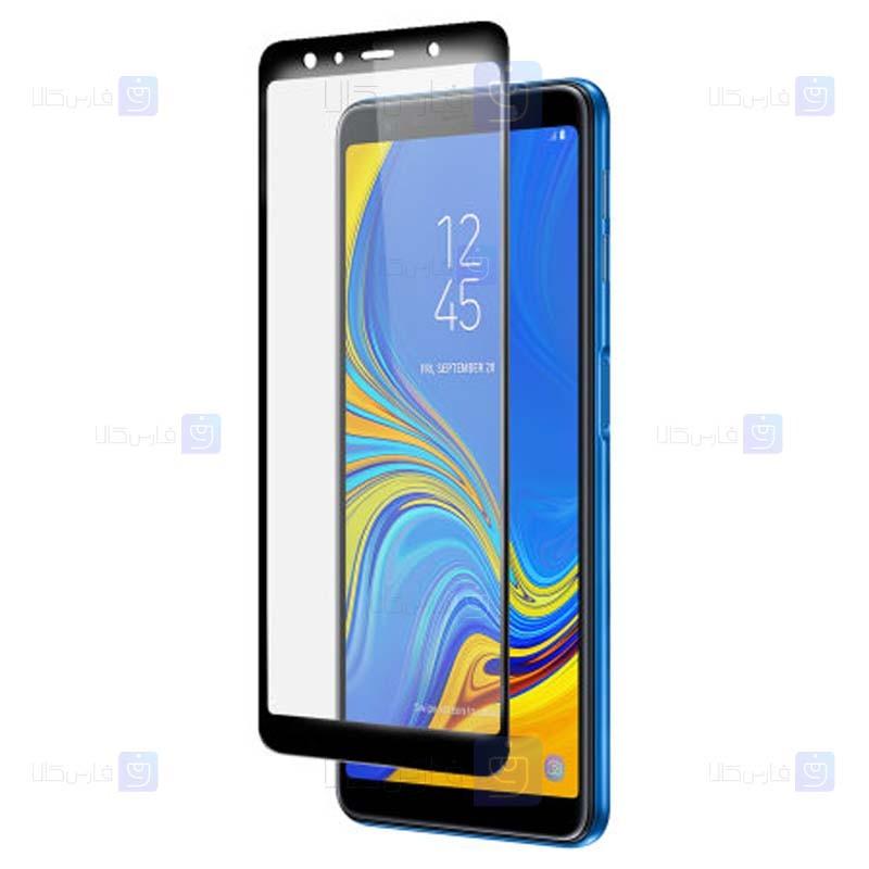 محافظ صفحه نمایش مات سرامیکی تمام صفحه سامسونگ Full Matte Ceramics Screen Protector Samsung Galaxy A7 2018