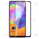 محافظ صفحه نمایش مات تمام چسب با پوشش کامل سامسونگ Full Matte Glass Screen Protector For Samsung Galaxy A31