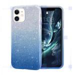 قاب ژله ای اکلیلی اپل Glitter Gradient Color Alkyd Jelly Case Apple iPhone 11