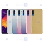 قاب ژله ای اکلیلی سامسونگ Glitter Gradient Color Alkyd Jelly Case Samsung Galaxy A30s A50s