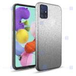 قاب ژله ای اکلیلی سامسونگ Glitter Gradient Color Alkyd Jelly Case Samsung Galaxy A71