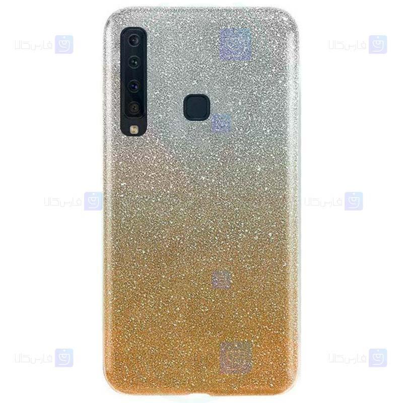 قاب ژله ای اکلیلی سامسونگ Glitter Gradient Color Alkyd Jelly Case Samsung Galaxy A9 2018