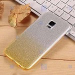 قاب ژله ای اکلیلی سامسونگ Glitter Gradient Color Alkyd Jelly Case Samsung Galaxy S5