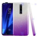قاب ژله ای اکلیلی شیائومی Glitter Gradient Color Alkyd Jelly Case Xiaomi Redmi K20 K20 Pro Mi 9T Mi 9T Pro