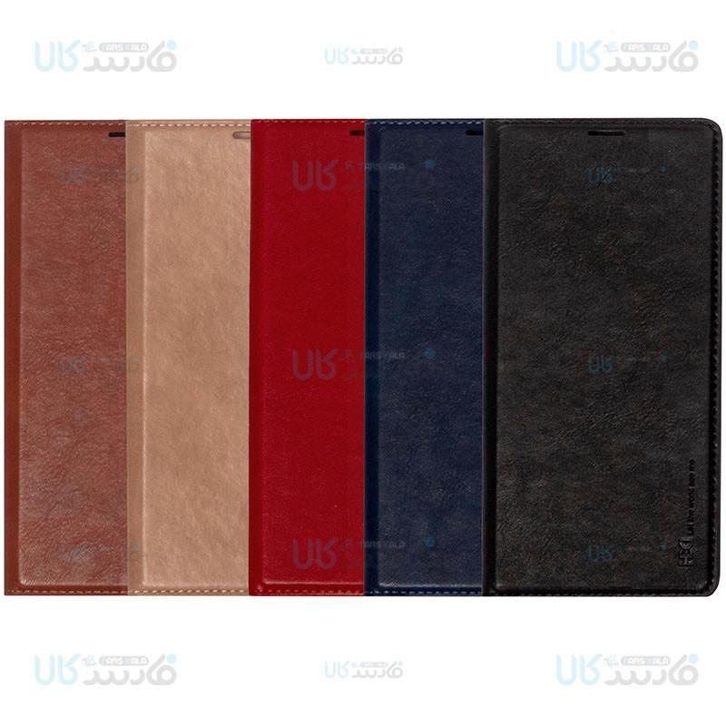 کیف محافظ چرمی سامسونگ HBD Leather Standing Cover For Samsung Galaxy Note 9