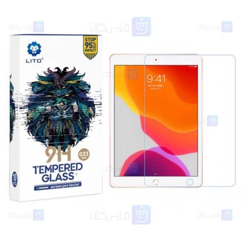 محافظ صفحه نمایش لیتو اپل LITO 9H Screen Protector For Apple iPad 10.2