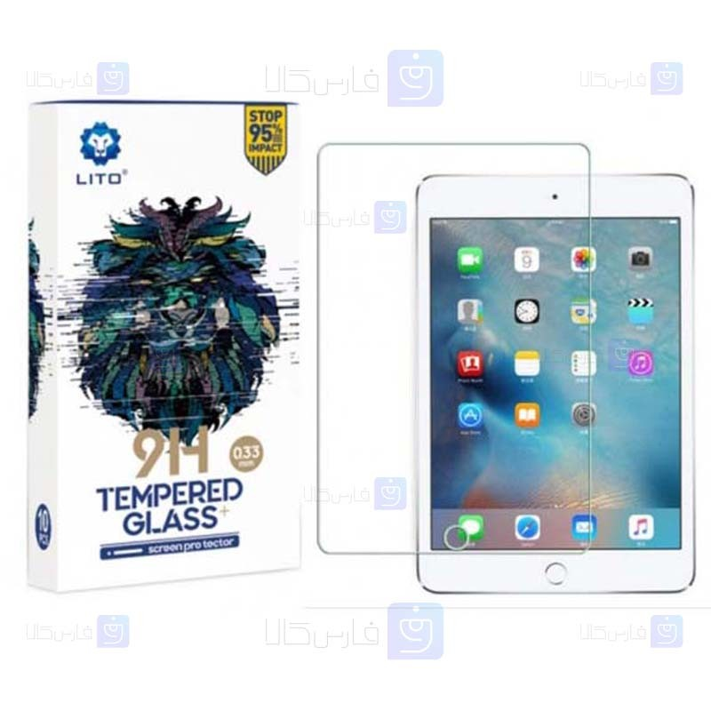 محافظ صفحه نمایش لیتو اپل LITO 9H Screen Protector For Apple iPad Air Air 2 iPad 9.7