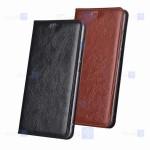 کیف محافظ چرمی بلک بری Leather Standing Cover For BlackBerry Priv