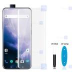 محافظ صفحه شیشه ای تمام صفحه و خمیده یو وی مات وان پلاس Matte UV Full Glass Screen Protector OnePlus 7 Pro
