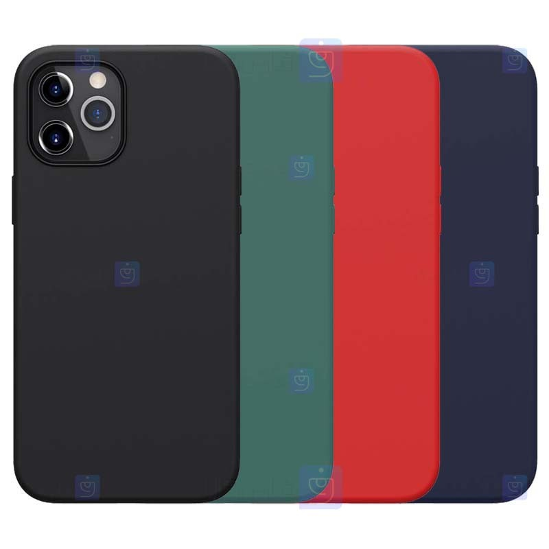 قاب محافظ سیلیکونی نیلکین اپل Nillkin Flex Pure Case Apple iPhone 12 Pro Max