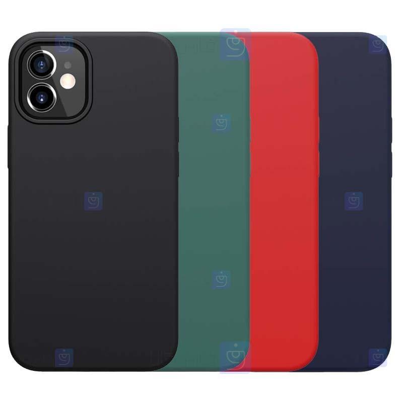 قاب محافظ سیلیکونی نیلکین اپل Nillkin Flex Pure Case Apple iPhone 12 mini