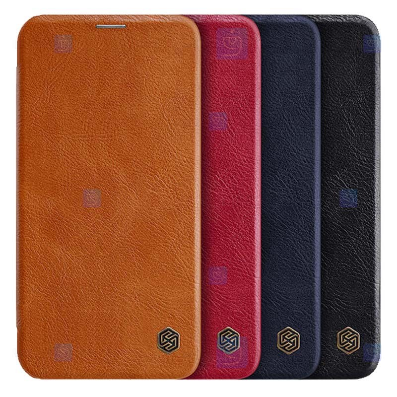 کیف محافظ چرمی نیلکین اپل Nillkin Qin Case For Apple iPhone 12 mini