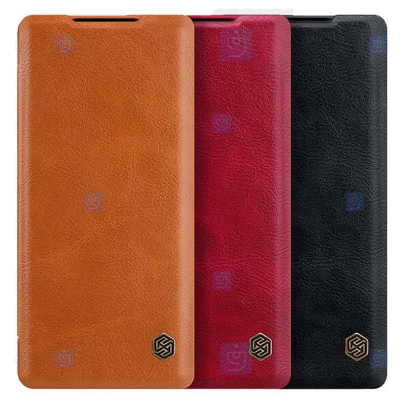 کیف محافظ چرمی نیلکین هواوی Nillkin Qin Case For Huawei Mate 40 Pro