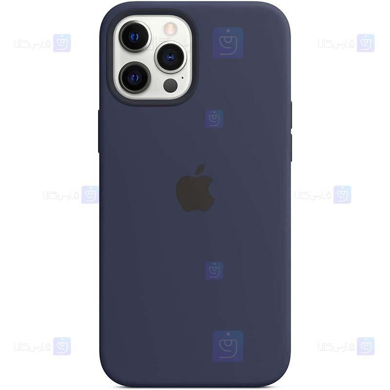 قاب محافظ سیلیکونی اپل Silicone Case For Apple iPhone 12 Pro