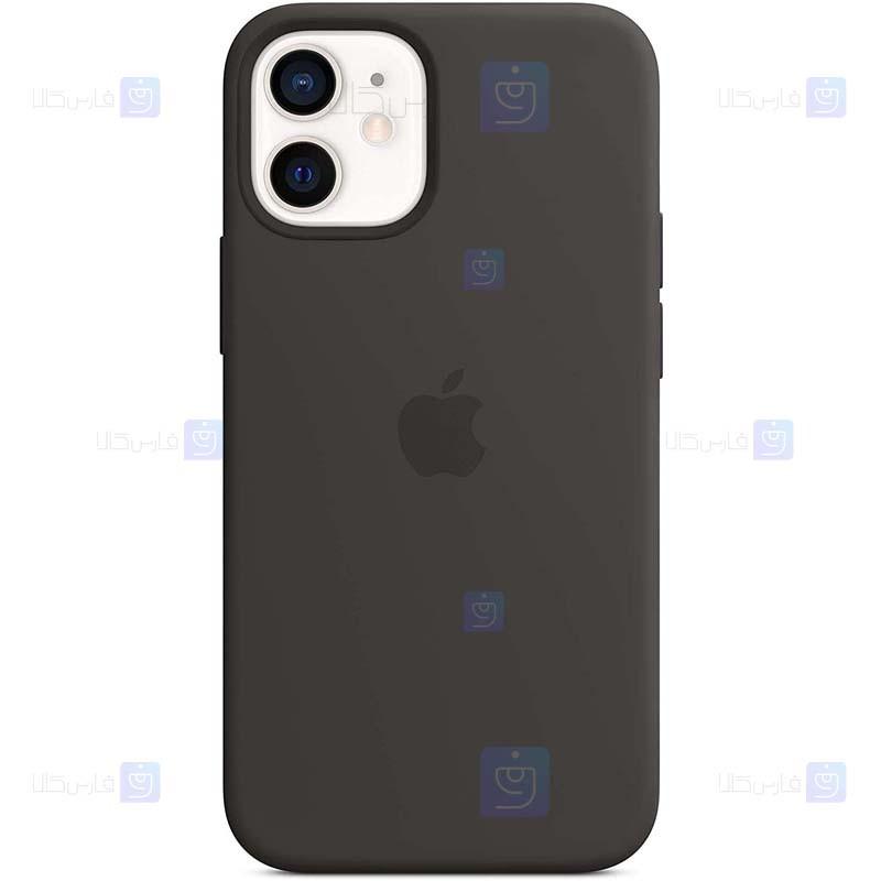 قاب محافظ سیلیکونی اپل Silicone Case For Apple iPhone 12 mini