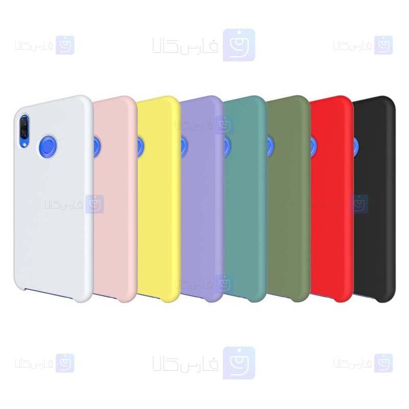 قاب محافظ سیلیکونی هواوی Silicone Case For Huawei Nova 3i P Smart Plus
