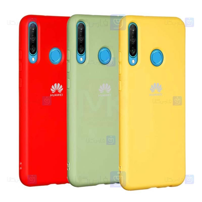 قاب محافظ سیلیکونی هواوی Silicone Case For Huawei Y7p