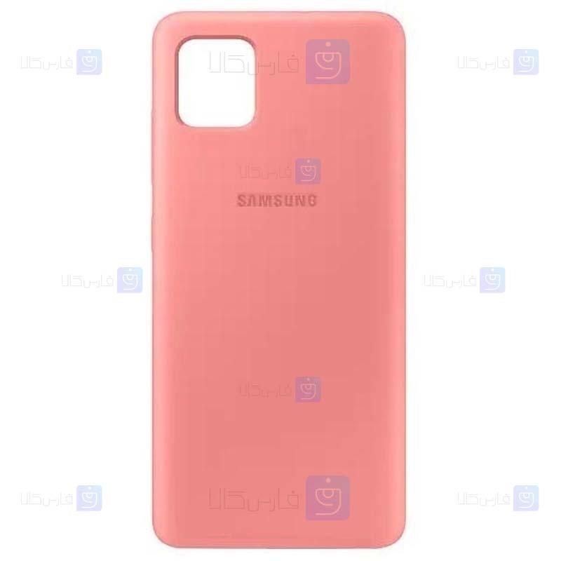 قاب محافظ سیلیکونی سامسونگ Silicone Case For Samsung Galaxy Note 10 Lite