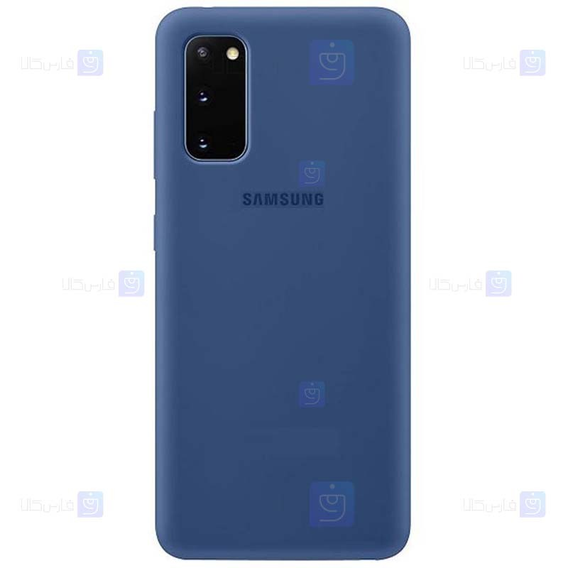 قاب محافظ سیلیکونی سامسونگ Silicone Case For Samsung Galaxy S20