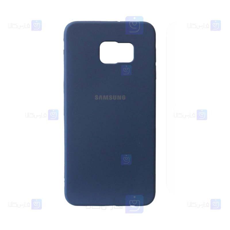 قاب محافظ سیلیکونی سامسونگ Silicone Case For Samsung Galaxy S6 edge