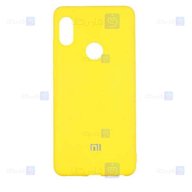 قاب محافظ سیلیکونی شیائومی Silicone Case For Xiaomi Redmi Note 6 Pro