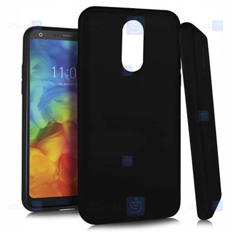 قاب محافظ ژله ای سیلیکونی ال جی Soft Silicone Case For LG Q7