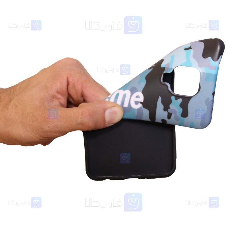 قاب محافظ ژله ای چریکی Superme Guerrilla Jelly Case For Xiaomi Redmi Note 9 Pro Note 9 Pro Max Note 9S