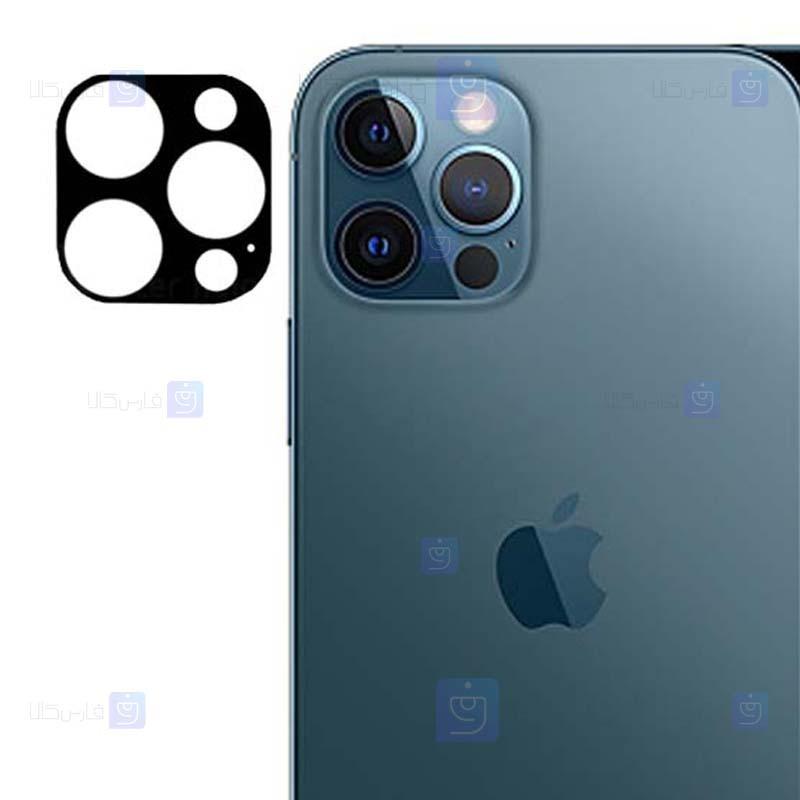 محافظ لنز فلزی دوربین موبایل اپل Alloy Lens Cap Protector For Apple iPhone 12 Pro Max