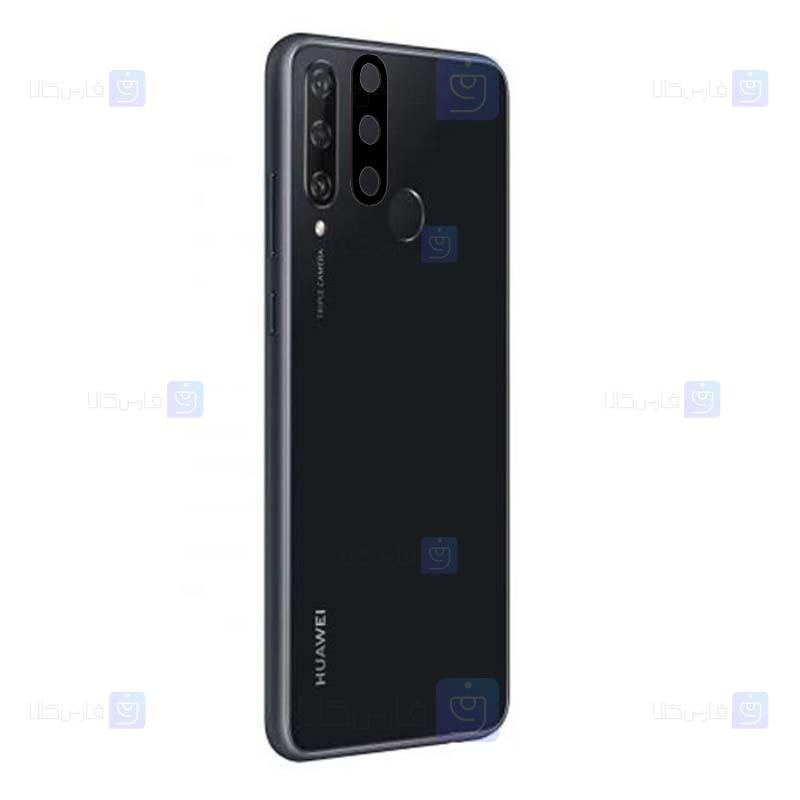 محافظ لنز فلزی دوربین موبایل هواوی Alloy Lens Cap Protector For Huawei Y6p