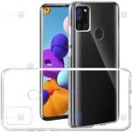 قاب محافظ شیشه ای- ژله ای سامسونگ Belkin Transparent Case For Samsung Galaxy A21s