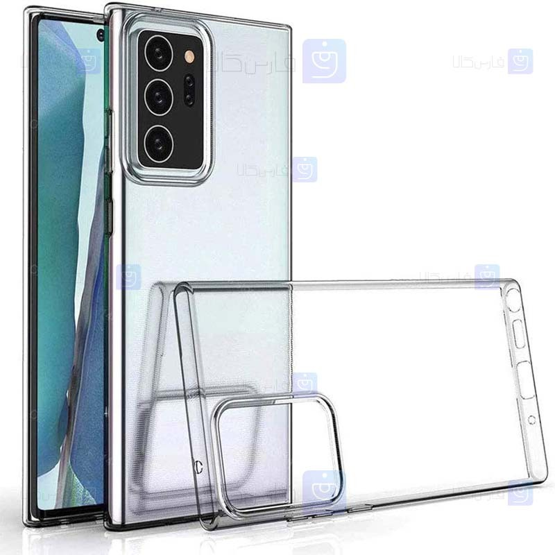 قاب محافظ شیشه ای- ژله ای سامسونگ Belkin Transparent Case For Samsung Galaxy Note 20 Ultra