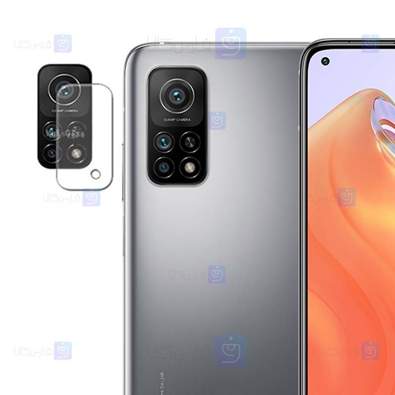 محافظ لنز شیشه ای دوربین شیائومی Camera Lens Glass Protector For Xiaomi Mi 10T Pro 5G