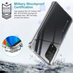 قاب محافظ ژله ای کپسول دار 5 گرمی شیائومی Clear Tpu Air Rubber Jelly Case For Xiaomi Mi 10T Pro 5G