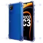 قاب محافظ ژله ای کپسول دار 5 گرمی شیائومی Clear Tpu Air Rubber Jelly Case For Xiaomi Poco C3
