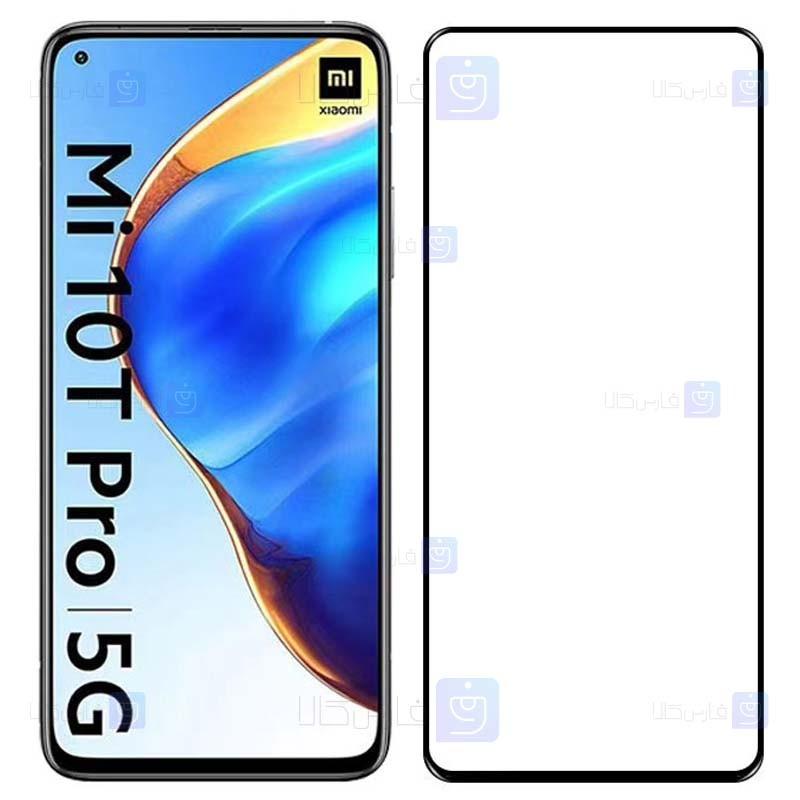 محافظ صفحه نمایش تمام چسب با پوشش کامل شیائومی Full Glass Screen Protector For Xiaomi Mi 10T 5G