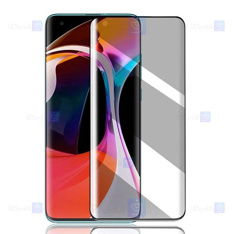 محافظ صفحه نمایش سرامیکی حریم شخصی تمام صفحه شیائومی Full Privacy Ceramics Screen Protector Xiaomi Mi 10