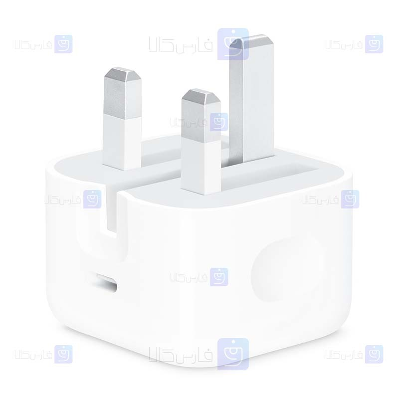 آداپتور شارژر اصلی اپل Apple A2344 Charger 20W Type C for iPhone 12 Series