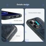 قاب محافظ چرمی نیلکین اپل Nillkin Aoge Leather Case Apple iPhone 12 Pro Max