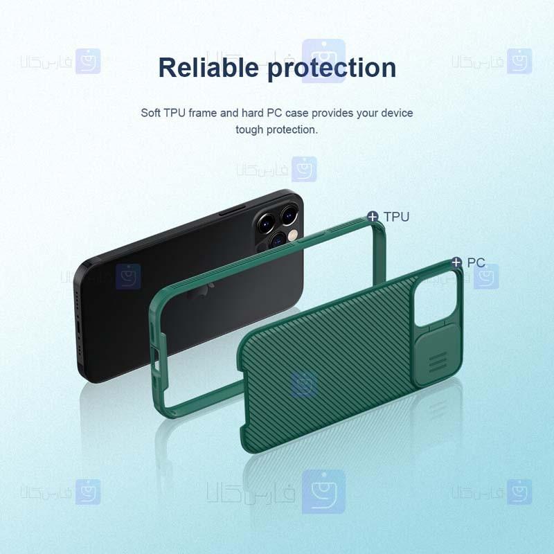 قاب محافظ نیلکین اپل Nillkin CamShield Pro Case for Apple iPhone 12 Pro Max