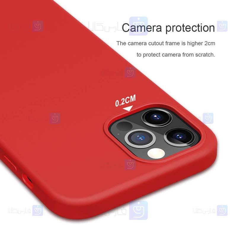 قاب محافظ سیلیکونی نیلکین اپل Nillkin Flex Pure Case Apple iPhone 12 Pro