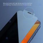محافظ صفحه نمایش حریم شخصی تمام چسب نیلکین اپل Nillkin Guardian privacy tempered glass For Apple iPhone 12 Pro Max