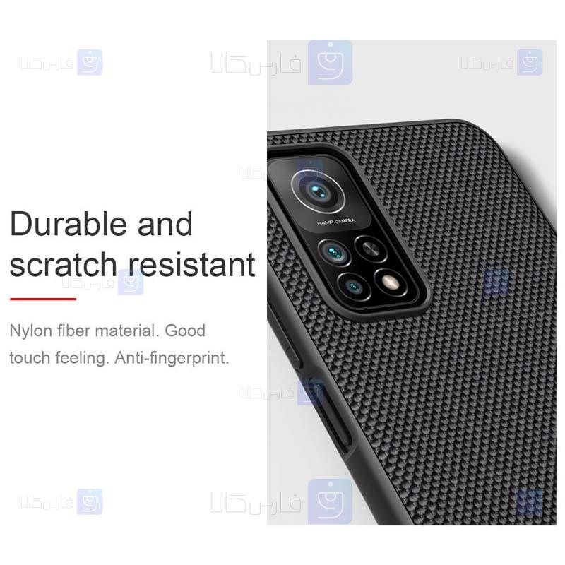قاب محافظ نیلکین اپل Nillkin Textured nylon fiber Case Xiaomi Mi 10T 5G