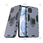 قاب محافظ ضد ضربه انگشتی هواوی Ring Holder Iron Man Armor Case Huawei P40 lite
