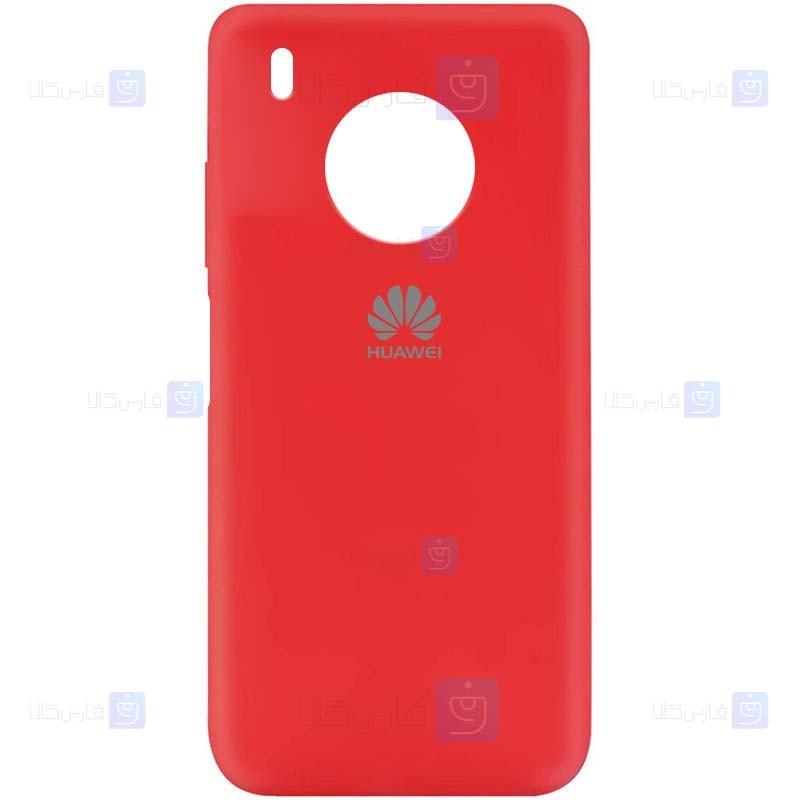 قاب محافظ سیلیکونی هواوی Silicone Case For Huawei Y9a