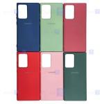 قاب محافظ سیلیکونی سامسونگ Silicone Case For Samsung Galaxy Note 20 Ultra