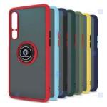 قاب محافظ مات انگشتی شیائومی Translucent Matte Hybrid Ring Case Xiaomi Mi 10