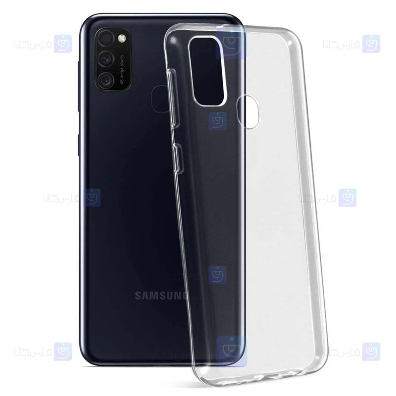 قاب محافظ شیشه ای- ژله ای سامسونگ Belkin Transparent Case For Samsung Galaxy M30s