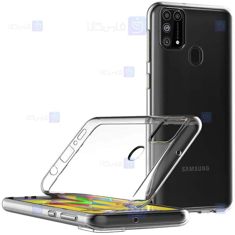 قاب محافظ شیشه ای- ژله ای سامسونگ Belkin Transparent Case For Samsung Galaxy M31