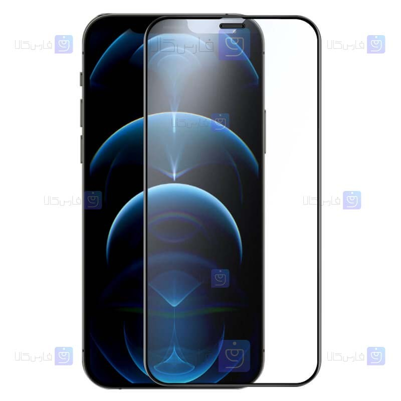گلس مات تمام صفحه تمام چسب نیلکین آیفون Nillkin Fog Mirror Matte Glass For Apple iPhone 12 Mini